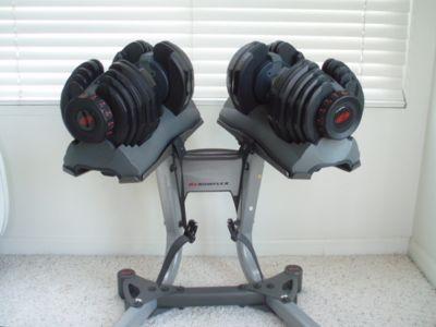 Bowflex 552 Dumbbells