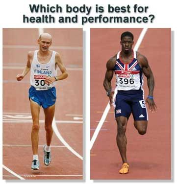 Distance Athletes vs Sprinters